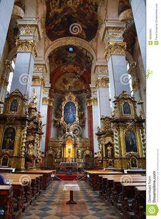 st giles' church husova street old town prague czech republic - Buscar con Google