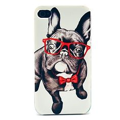 Lasi Happy Dog Pattern Hard Case for iPhone 4/4S – EUR € 2.87