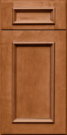 Merillat Classic Cannonsburg Door Style With Five Piece Drawer Front In  Hazelnut Stain With Java