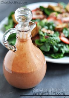 Strawberry Balsamic Vinaigrette Dressing