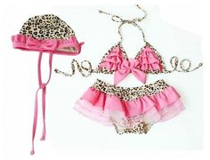Hey, I found this really awesome Etsy listing at https://www.etsy.com/listing/183393085/toddler-girls-pink-leopard-bikini-tutu