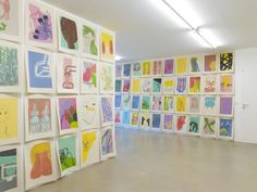 #colorful #art Amy #Sillman #exhibition and display