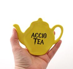 Harry Potter tea bag holder Accio Tea  teapot shaped by LennyMud