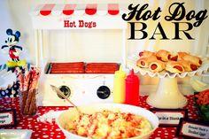 hot dog bar!