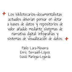 Pablo Lara-Navarra, Enric Serradell-López y David Maniega-Legarda en «Evolución de los repositorios documentales. El caso SocialNet» http://www.elprofesionaldelainformacion.com/contenidos/2013/sept/08.html