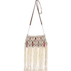 To do: Learn maceamé and make me a cute bag like this one from River Island