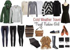 Minimalist Packing List for Cold Weather Travel #travel #packinglist via TravelFashionGirl.com