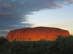 Australia, lugar sagrado para los aborígenes.