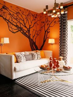 Bright wall colors - My Simply Special