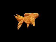 Model:Goldfish Designer:Al3bbasi. One uncut paper 14.5*14.5cm.