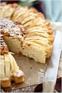Apfelkuchen mit Amaretto