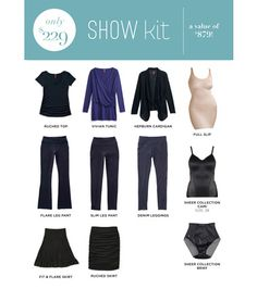 Show Kit ..when you join with Hello, you can make it a bundle and customize your new fashion business by choosing hello & show...or hello & shape.
