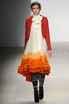 Bora Aksu Autumn/Winter 2012 Ready-To-Wear Collection | British Vogue