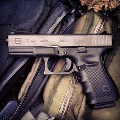Glock 19 for everyday carry. I'm not big on the additions for an everyday carry piece. Bare bones and simple.