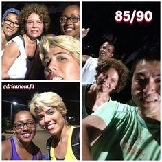 85/90 quinta - correr já é ótimo, melhor ainda quando vamos e encontramos mais amigos pelo parque!