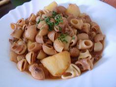 Cocina Boliviana- Ají de Fideo  