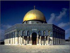 Arte islámico oriental hasta el siglo XI. Cúpula de la Roca en Jerusalén.