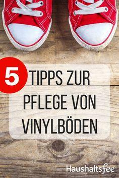 Beste Tipps zur Pflege von Vinylböden - Haushaltsfee.org
