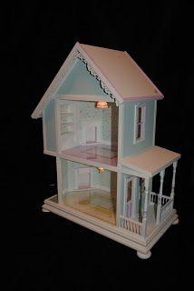 "Custom Dollhouses by Liz: ""Little Hands"" Collection Dollhouse"