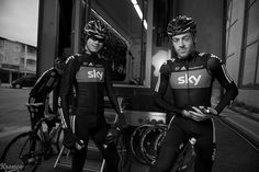 Chris Froome & Alex Dowsett by kristof ramon, via Flickr