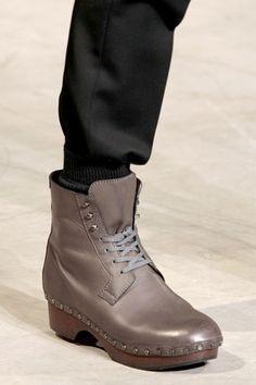 Louis Vuitton clog boots for men.