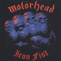 "#Motorhead "" Iron Fist"" On Vinyl - Madcap Music and More.com # $47.95"