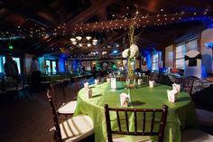 Bridal Tasting setup in the ballroom