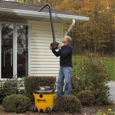 Gutter Cleaning On Pinterest Ned Stevens Smart Home And