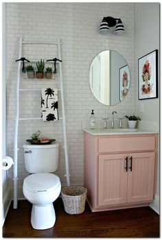 Small Bathroom Ideas - 50+ Ideas to Decorate Small Apartment on a Budget