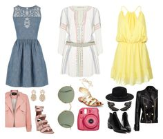 A fashion look from May 2016 featuring white embroidered dress, denim mini dress and plunge neck dress. Browse and shop related looks. White Embroidered Dress, Roberto Cavalli, Alice Olivia, Balmain, Oasis, River Island, Kate Spade, Forever 21, Fashion Looks