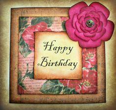 Rustic Style Birthday Card