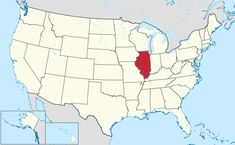 Illinois is northeast of Missouri and west of Indiana.