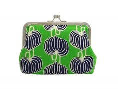 Martha Kiss-Lock Purse - Chinese Lantern