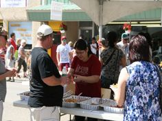 "The Annual Taste of Maple Creek - held each August lets you enjoy a ""taste"" of the many great restaurants located here!  (Click here for the 2014 schedule of events and information)"