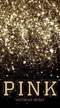 PINK Victoria Secret Gold