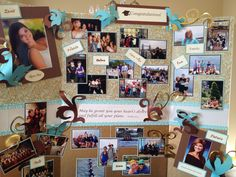 Alyssa's Senior board