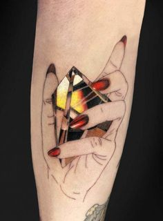 Bright and Shining Realistic Tattoo