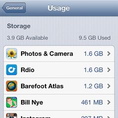 What to Delete on Your iPhone when it runs out of space