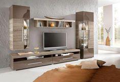 Siesta Tv Ünitesi Ünitechi Home Furniture Wall Unit Designs, Living Room Tv Unit Designs, Tv Wall Design, Tv Unit Furniture, Home Furniture, Muebles Rack Tv, Living Room Modern, Living Room Decor, Tv Unit Decor