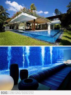 Awesome basement pool!
