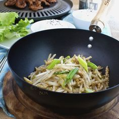 Adora's Box: KOREAN STYLE BEAN SPROUTS