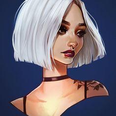 """Xd sa ses moi plus tard en plus j adore les teinture blanche Heuuuuu...... Je ne te permet pas de me dire sa xd parce-que j adore min céliba Moin migraine plus de place dans le lis et dans ma tête pour moi xd J adore le """" axcecible """" c tj gentil sa"""