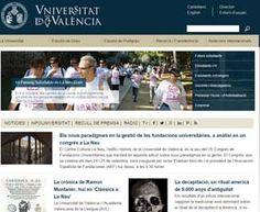 La Universitat de València, primera d'Espanya i 18 d'Europa en el rànquing del CSIC sobre impacte i visibilitat de la seua web