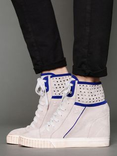 wedge sneakers I WANT THESE!