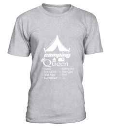 Checklist Camping Queen Forest Tent T-Shirt  Chef shirt, Chef mug, Chef gifts, Chef quotes funny #Chef #hoodie #ideas #image #photo #shirt #tshirt #sweatshirt #tee #gift #perfectgift #birthday #Christmas