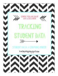 Student Data Binder. Everything you need to start using these in your classroom. Can be used in any grade/ and subject!