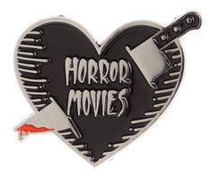 ECTOGASM HORROR MOVIES ENAMEL PIN #ectogasm #enamelpin #horror