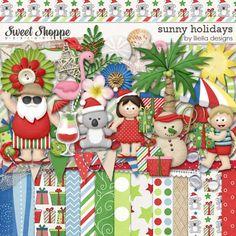 Sunny Holidays by lliella designs. $6.49