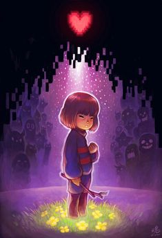 Undertale Frisk in the Ruins