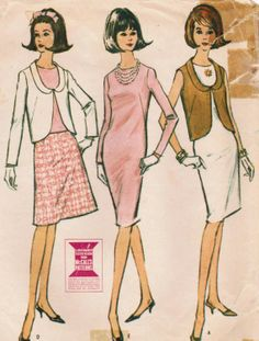 Vintage 1965 McCall's 7704 Sewing Pattern by midvalecottage, $10.00